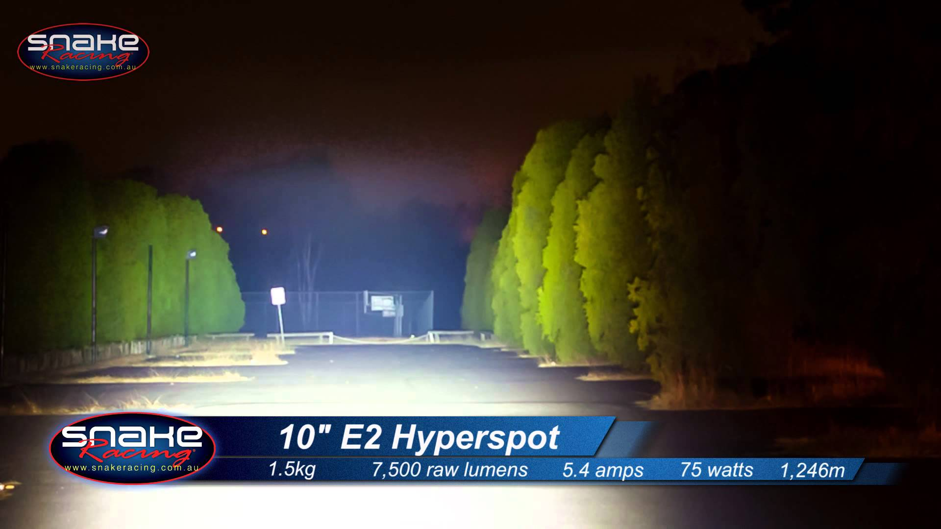 hyperspot ljusramp